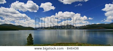 panoramic lake dillon