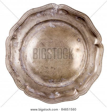 Old Pewter Plate