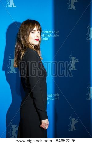 BERLIN, GERMANY - FEBRUARY 11: Actress Dakota Johnson, 'Fifty Shades of Grey' premiere. 65th Berlinale International Film Festival at Zoo Palast on February 11, 2015 in Berlin, Germany.