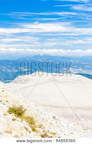 view from Mont Ventoux, Provence, France poster