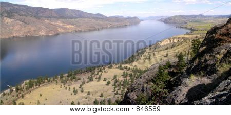 Kamloops Lake Landscape