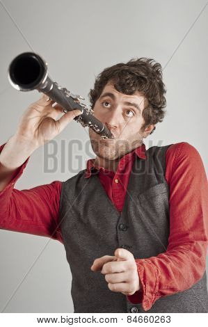 Silly Clarinet Man