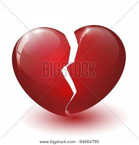 Glossy Broken Heart