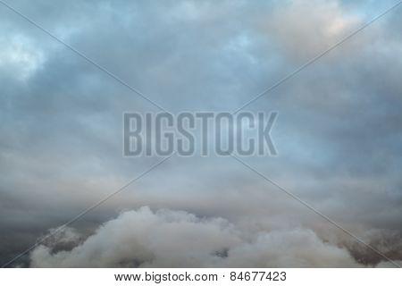 Dark Sky Dramatic Clouds