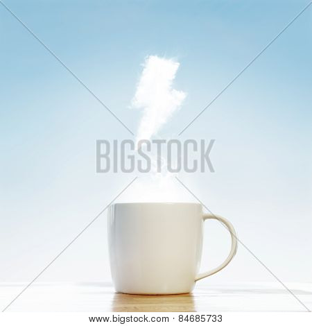 Coffee Cup Energy Concept