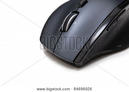 Isolated Wireless Computer Mouse Macro