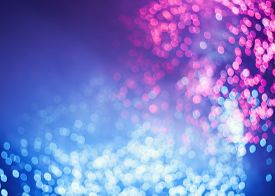 Color Abstract Defocused Lights