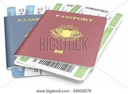 Passports And Tickets.