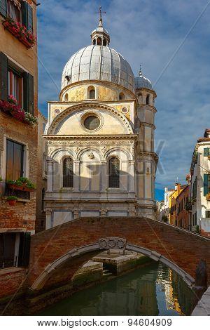 Santa Maria dei Miracoli in Venice, Italia