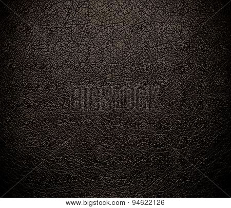 Dark taupe leather texture background