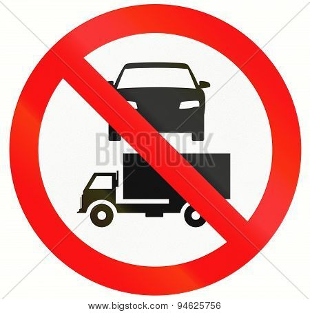 No Cars And Lorries In Indonesia