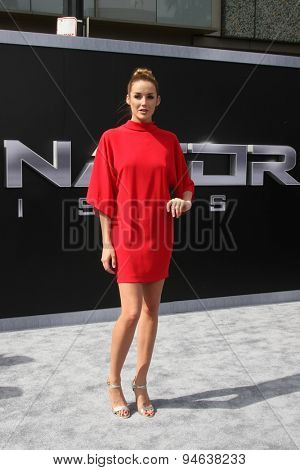 LOS ANGELES - JUN 28:  Sarah Dumont at the