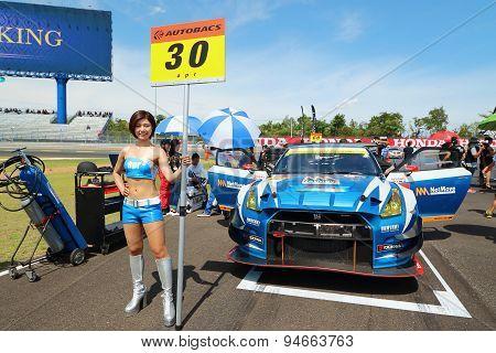 Grid Walk Buriram Super Gt Race 2015