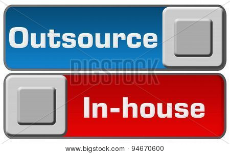 Outsource In-House Blue Red Switches