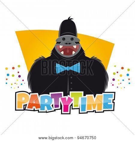 funny party gorilla