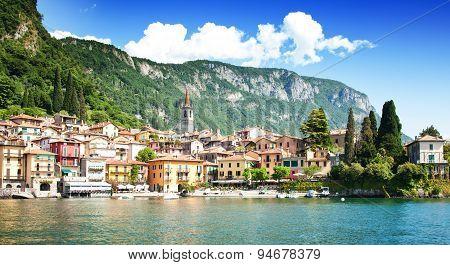Varenna village, Como lake