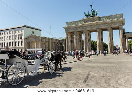 brandenburger gate, berlin landmark