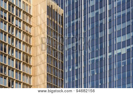 office building facade - business real estate