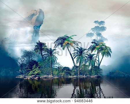 Fancy Tropical Island