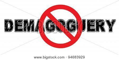 Ban Demagoguery