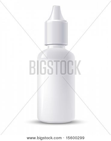 vector container of eye drops