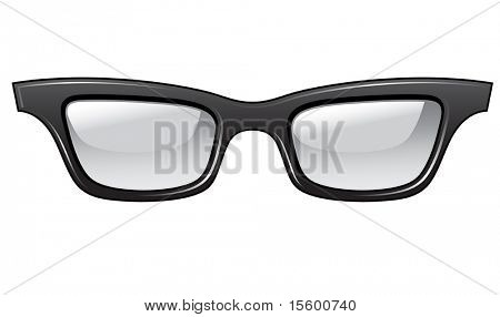 ugly glasses. you can easy put it on your picture