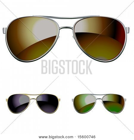vector aviators. you can easy put it on your picture
