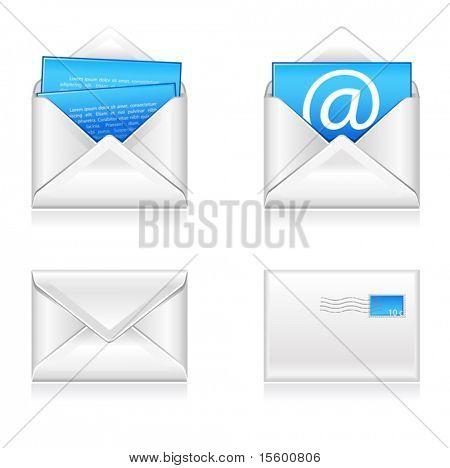 ilustração em vetor de ícones de e-mail