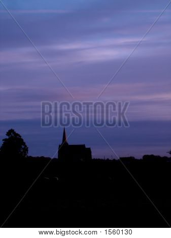 Dumcree Church At Dusk