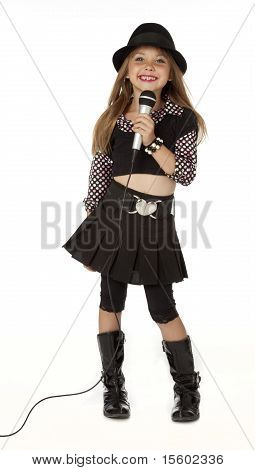 Pretty Little Singer
