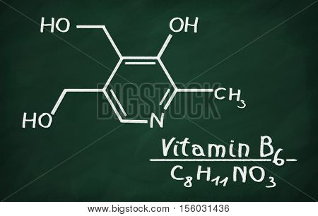 Structural Model Of Vitamin B6