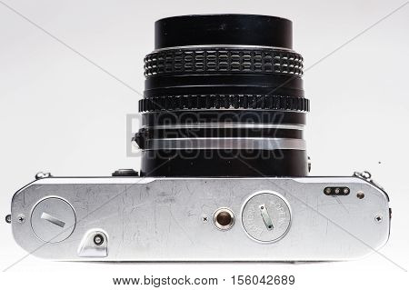 Analog Camera Limb On The Bottom