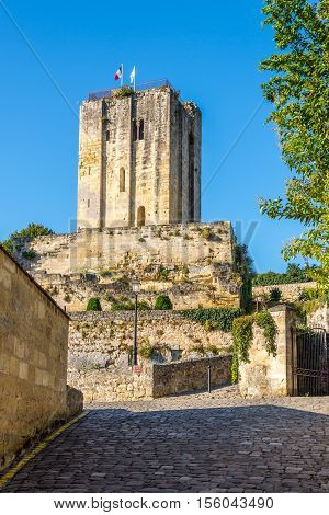 View at the Tower of Roy in Saint Emilion