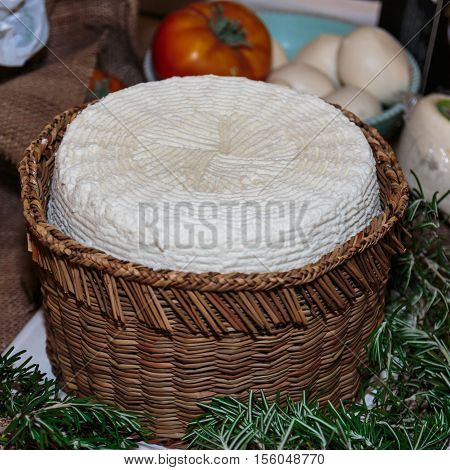 Soft White Italian Cheese, Ricotta