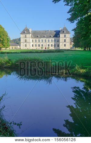 The Castle (chateau) Of Ancy-le-franc