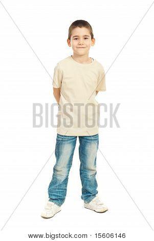 Full Length Of Child Boy