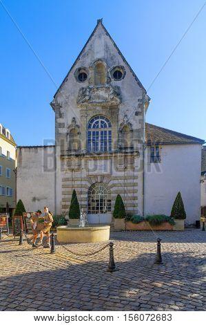 Ziem Square In Beaune