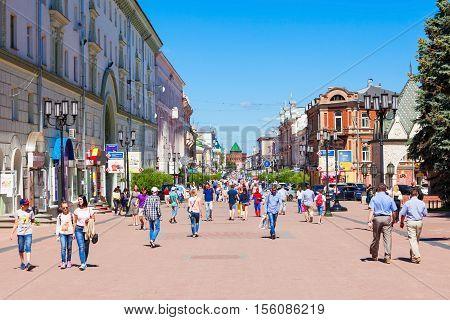 Bolshaya Pokrovskaya, Nizhny Novgorod