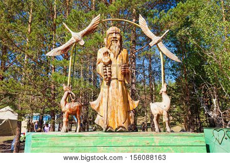 Ethnographic Museum In Ulan-ude