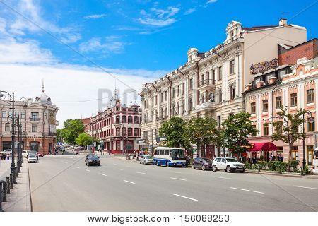 Svetlanskaya Central Street, Vladivostok