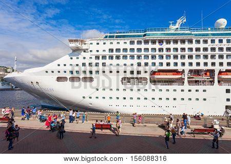 Vladivostok Passenger Sea Port