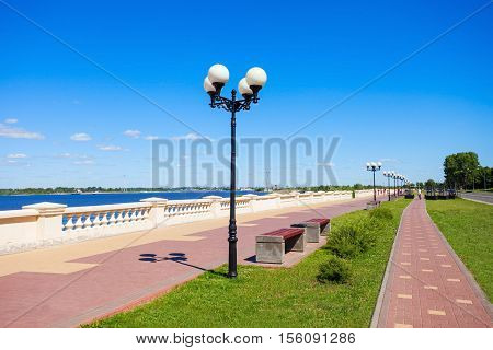 The Lower Volga Embankment