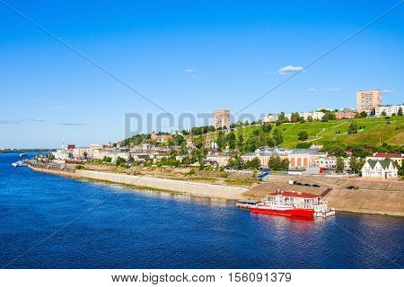 Nizhny Novgorod Aerial View