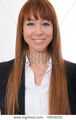 portrait of  a happy and confident businesswoman