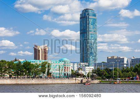 Vysotsky Skyscraper In Yekaterinburg