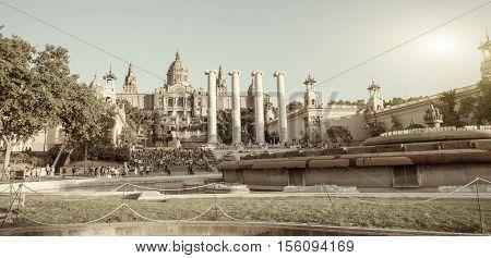 Spain Square - Barcelona  - Spain