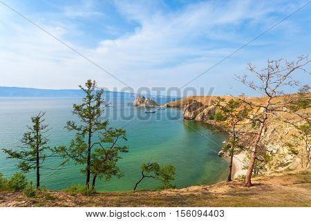 Lake Baikal In Siberia