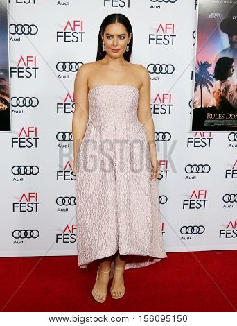 Beau Dunn at the AFI FEST 2016 Opening Night Premiere of 'Rules Don't Apply' held at the TCL Chinese Theatre in Hollywood, USA on November 10, 2016.