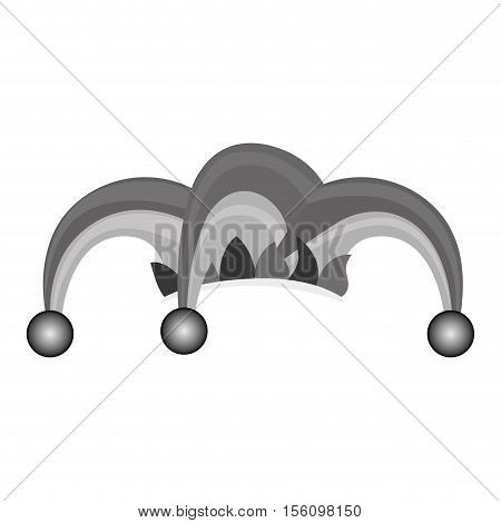 harlequin character icon image vector illustration design