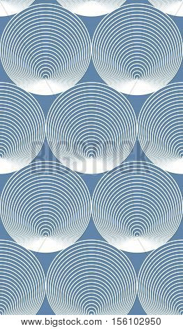 Continuous vector pattern with graphic lines decorative abstract background with geometric figures. Onamental seamless backdrop can be used for design and textile.